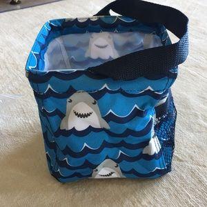 🆕 Thirty-One Little Caddy Shark Print Doo Doo Doo